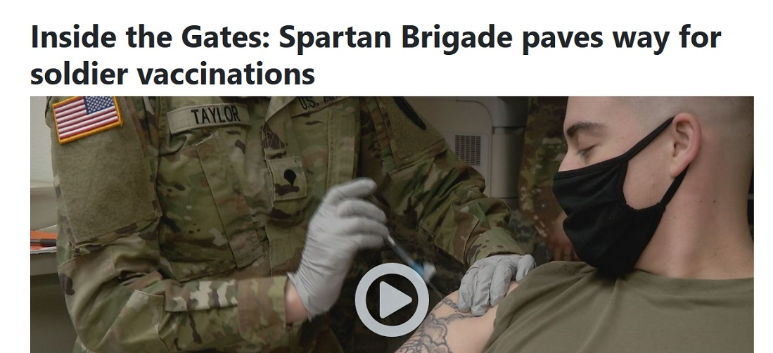 Spartan Brigade paves way for soldier vaccinations