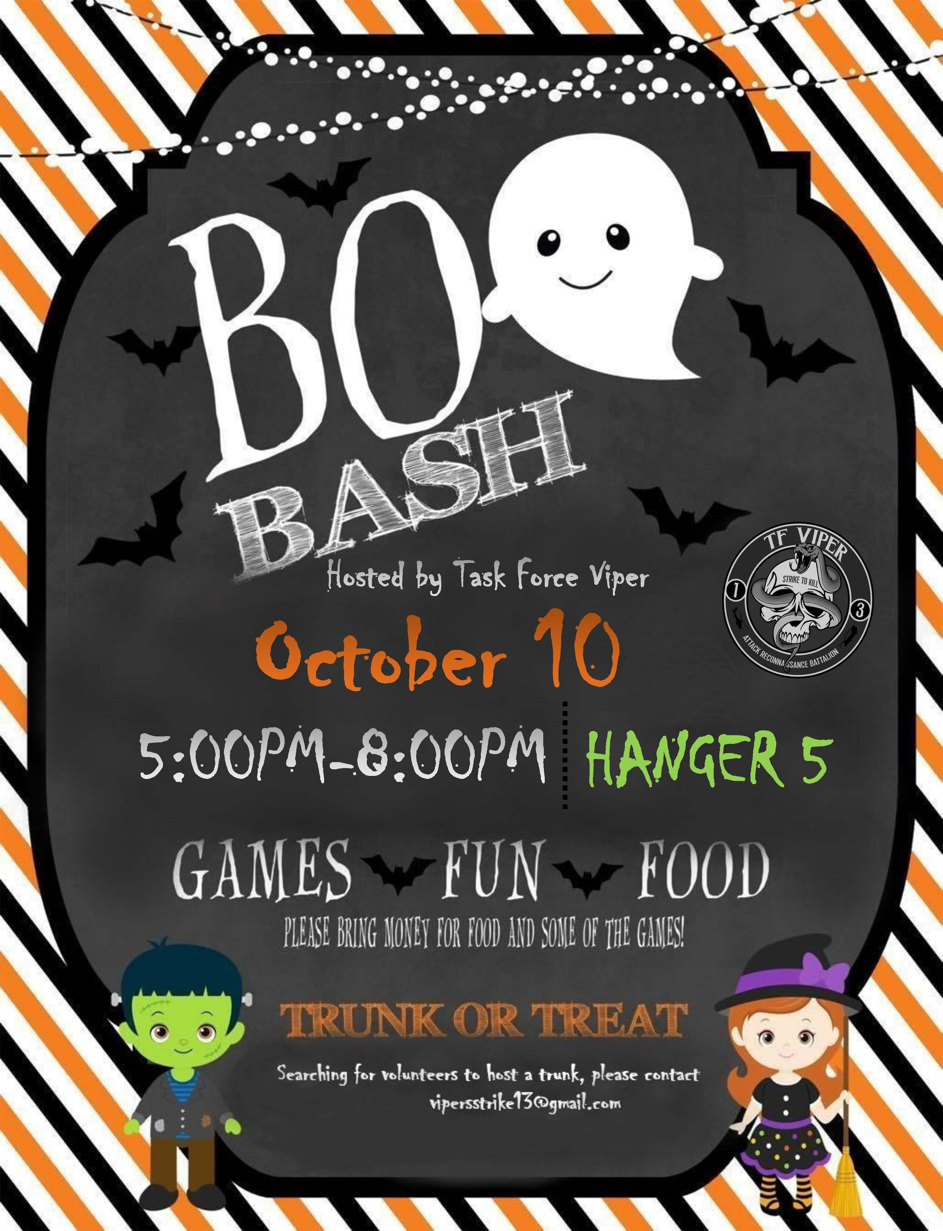Boo Bash Trunk or Treat