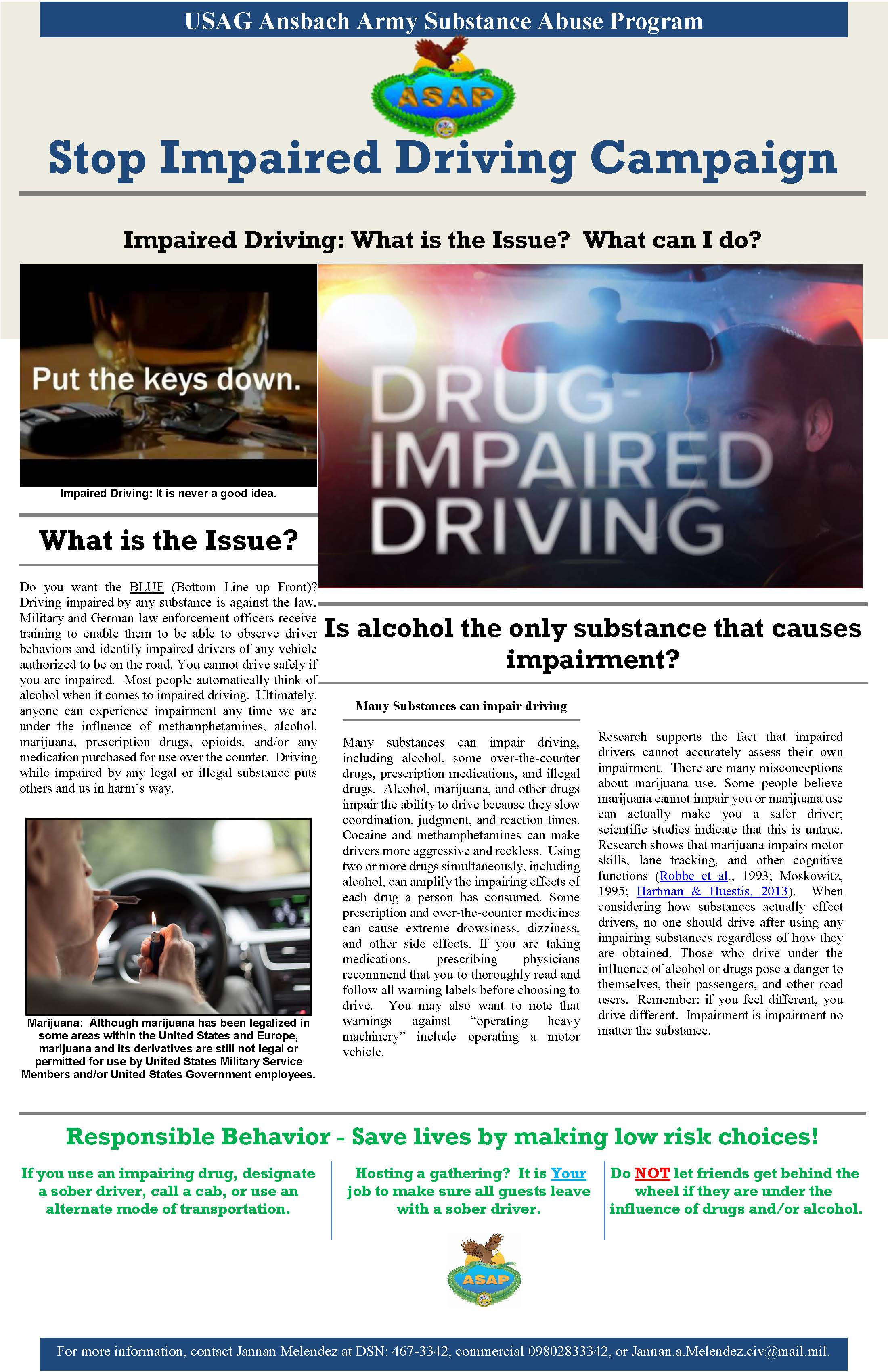 Stop Impaired Driving Campaign