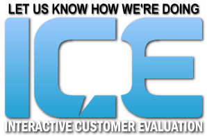 Link to Interactive Customer Evaluation comment card