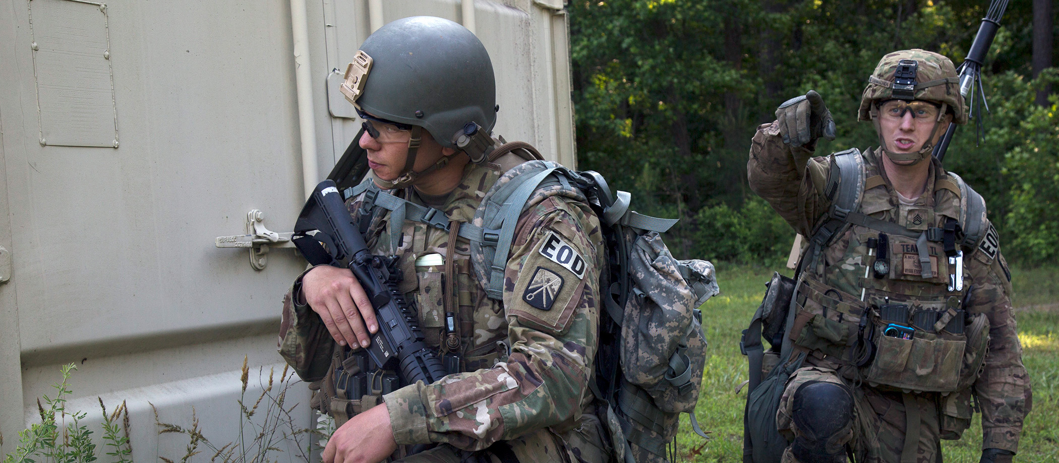 Explosive Ordnance Disposal Soldiers compete for best EOD team at A.P. Hill