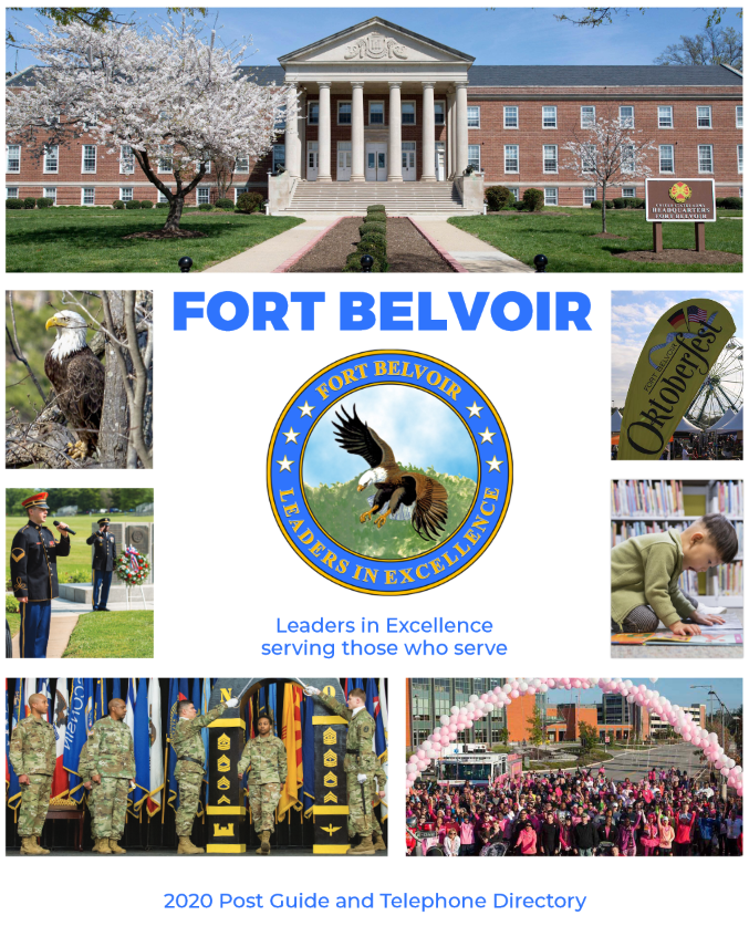 Fort Belvoir Post Guide 2020