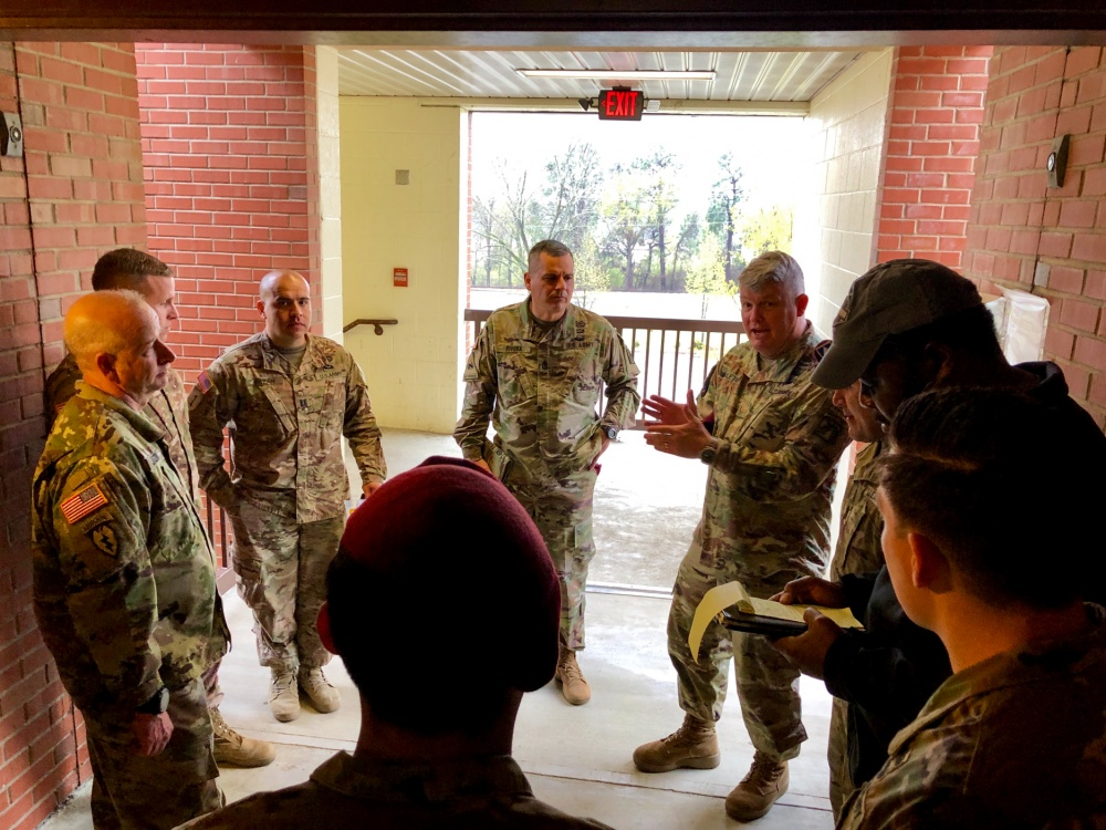 Fort Bragg leaders discuss ways to improve barracks living