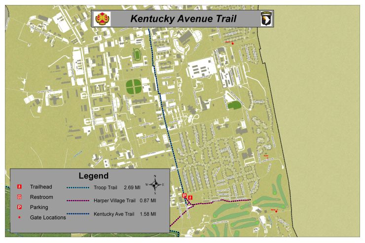 Clarksville Base Trails :: FORT CAMPBELL