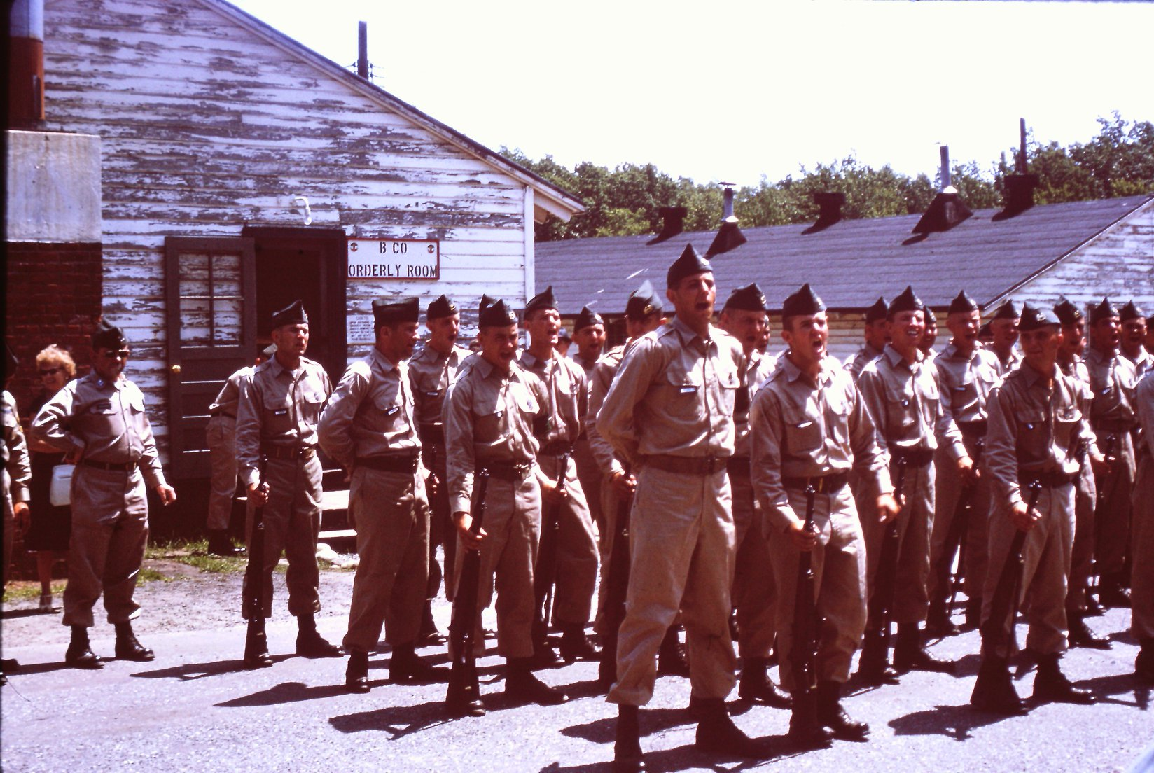 ROTC, Fort Devens, 1963