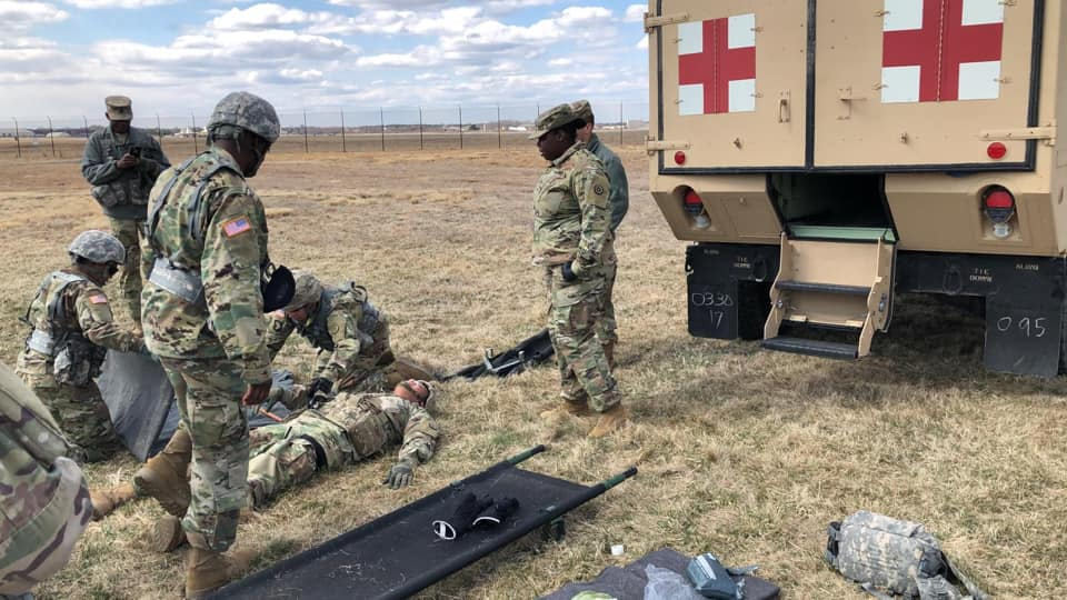 The 655th Regional Support Group is on ground at ASA Dix, conducting Pre-deployment Training for Operation Spartan Shield.