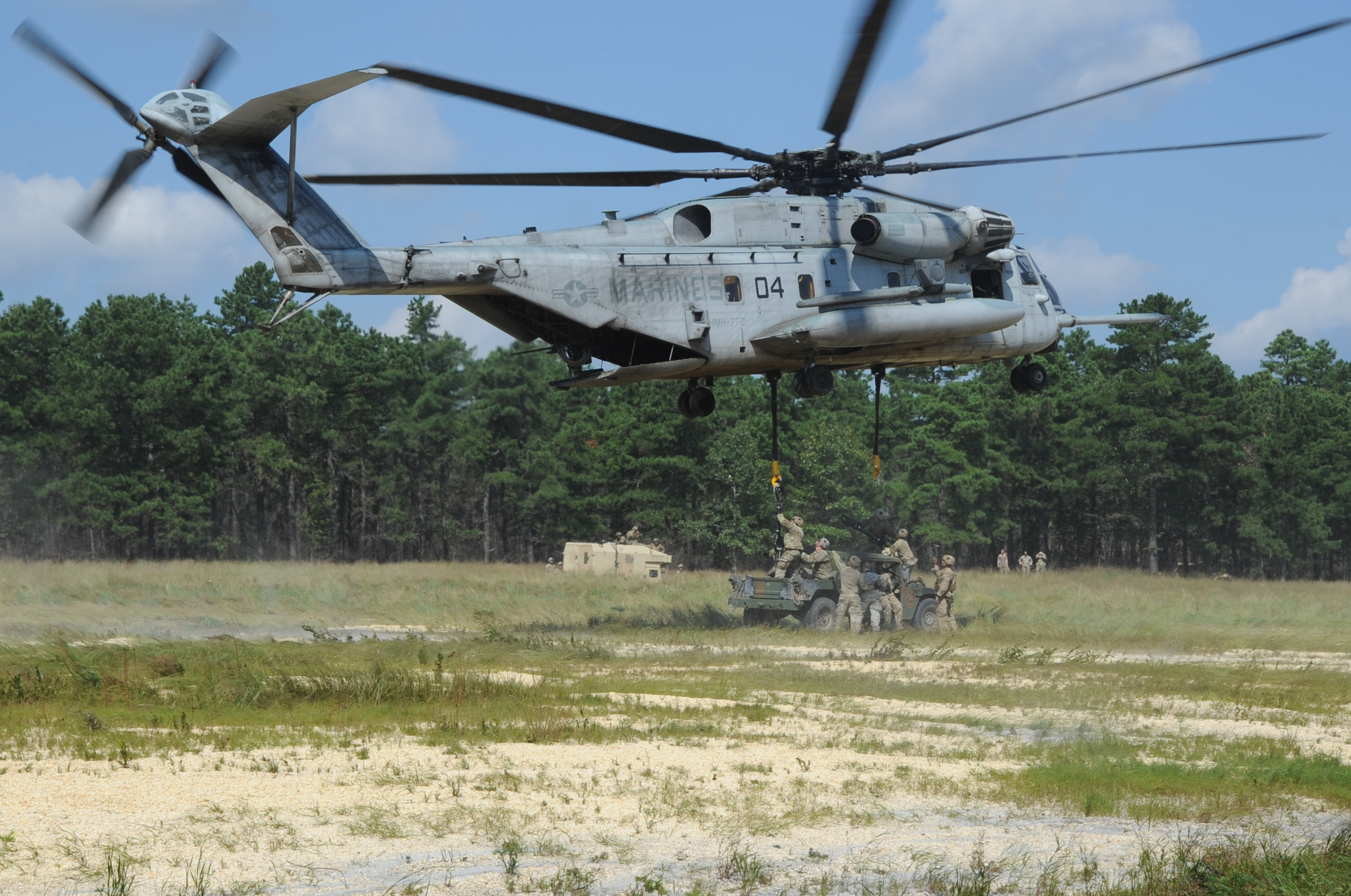 101st Helicopter landing