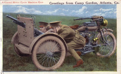 Greetings from Camp Gordon postcard