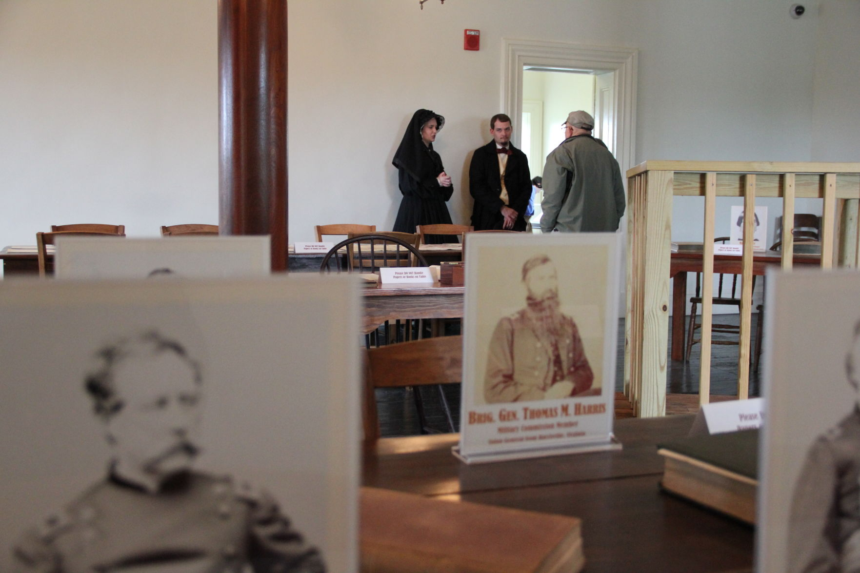 Mary Surratt & Dr. Samuel Mudd re-enactors