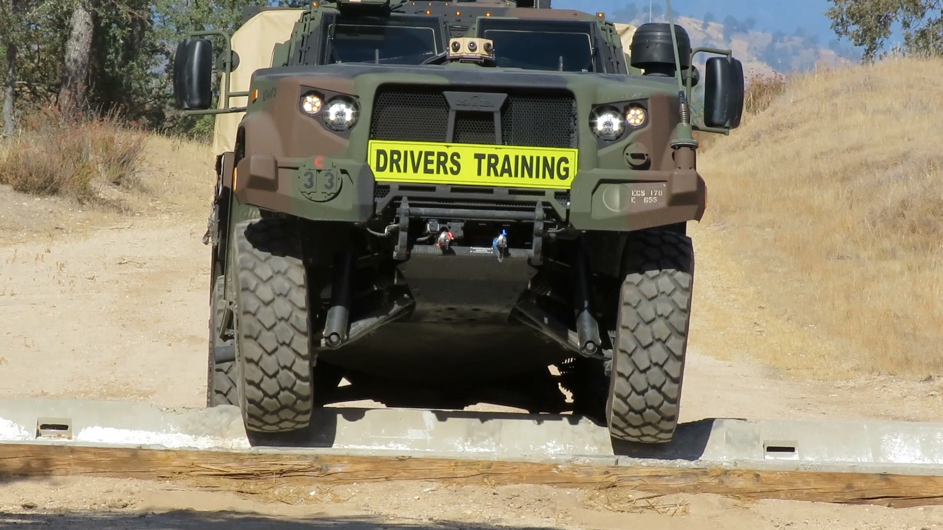 JLTV Obstacle Course