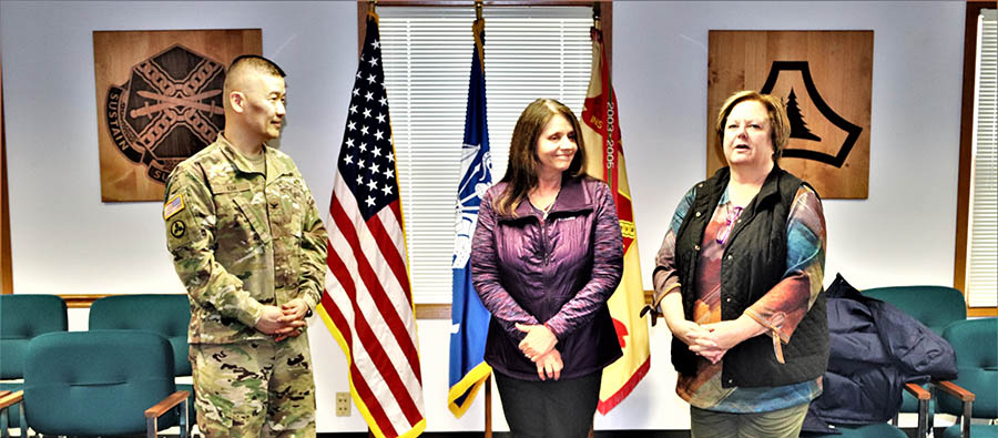 RMO's Karin Hoying awarded Garrison Employee of the Month