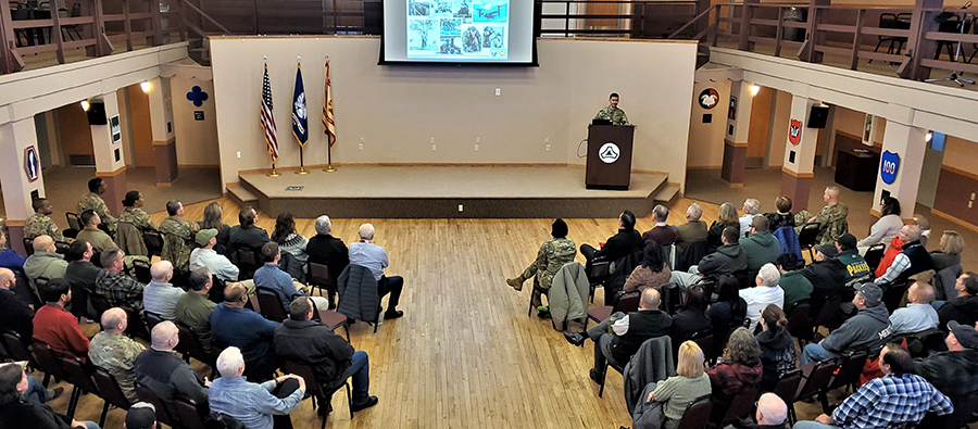Garrison commander's workforce briefing highlights yesterday's accomplishments, tomorrow's plans