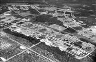 Photo of an aerial view of Fort McCoy