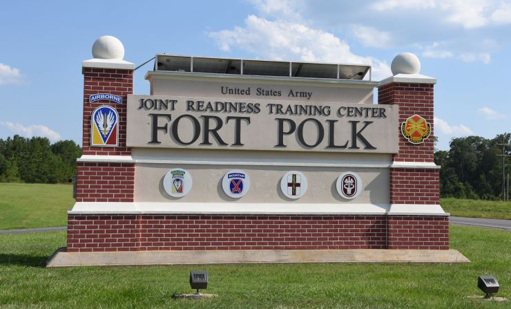 JRTC and Fort Polk Main Gate