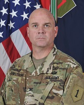 COL Charles S. Armstrong, 1st ABCT Commander