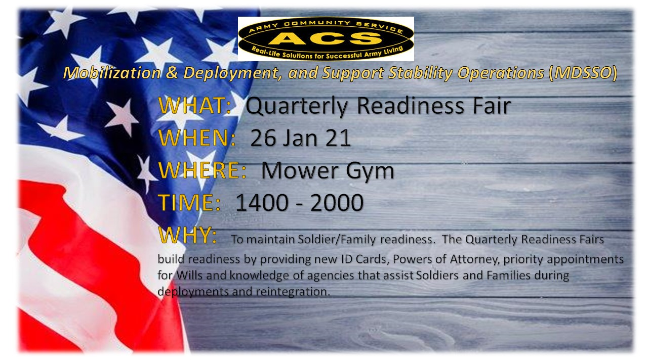 Readiness Fair