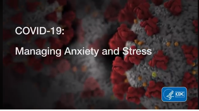 CDC Managing Anxiety Stress